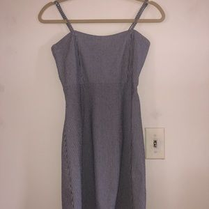 brandy melville stripped blue dress